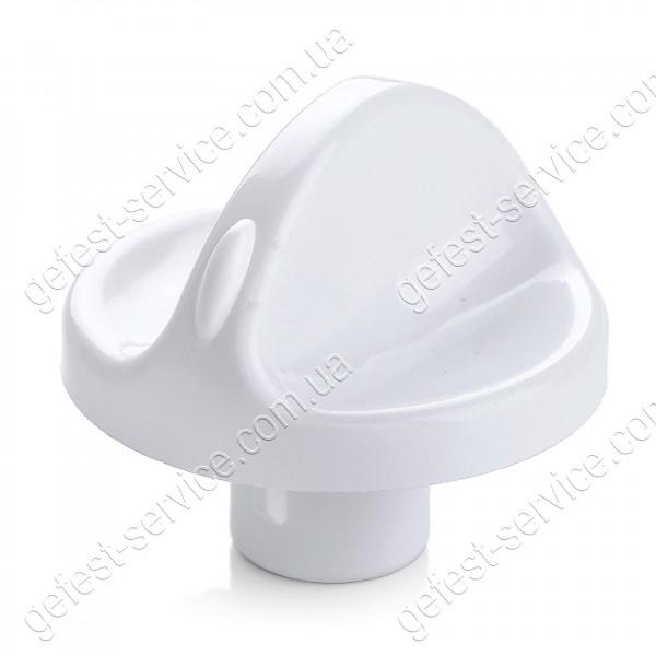 Ручка регулировочная 100.36.0.000-01 белая плиты GEFEST 1100, 3100