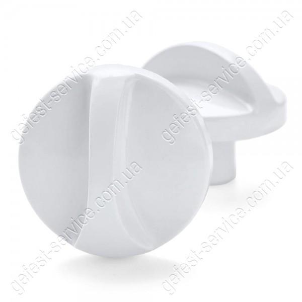 Ручка регулировочная 1140.71.0.000 белая плиты GEFEST 1100, 3100