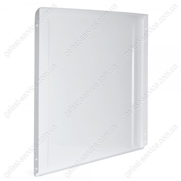 Крышка 1200.00.0.007 белая металлическая плиты GEFEST 1200, 6100, 6300...