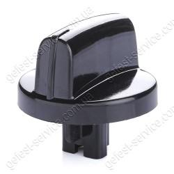 Ручка регулировочная 1500.03.0.000-01 черная плиты GEFEST 1300, 1500, 3500