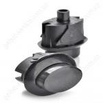 Кнопка ВЯЖА.303.657.006-02 предохранительного устройства ТУПа черная плиты GEFEST