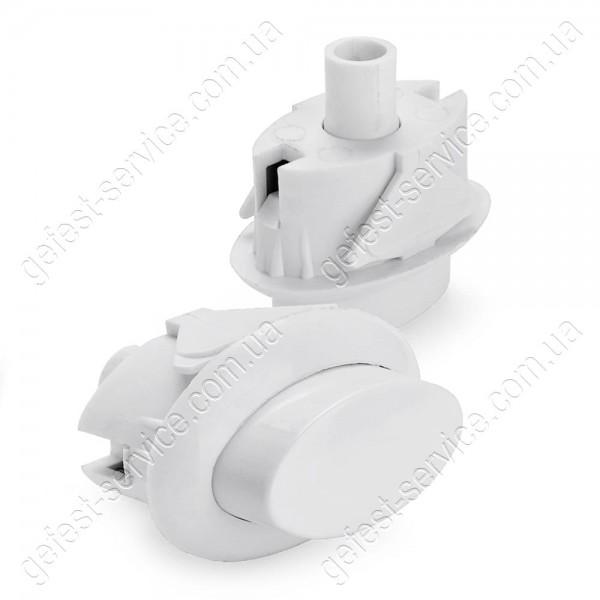 Кнопка ВЯЖА.303.657.007-01 предохранительного устройства ТУПа белая плиты GEFEST