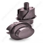 Кнопка ВЯЖА.303.657.007-03 предохранительного устройства ТУПа коричневая плиты GEFEST