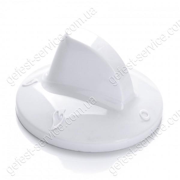 Ручка регулировочная 3210.01.0.000-09 белая для плиты GEFEST 700, 900, 910