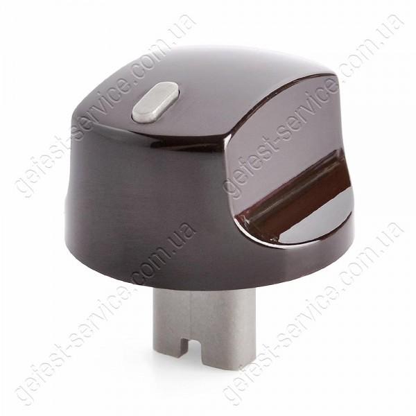 Ручка регулировочная 5100.55.0.000-01 коричневая плиты GEFEST 5100