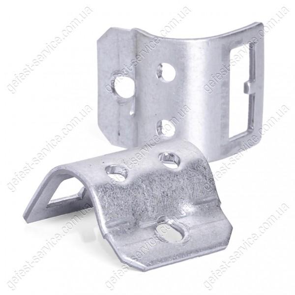 Скоба 6100.25.0.010 крепления крана на трубе коллектора плиты GEFEST