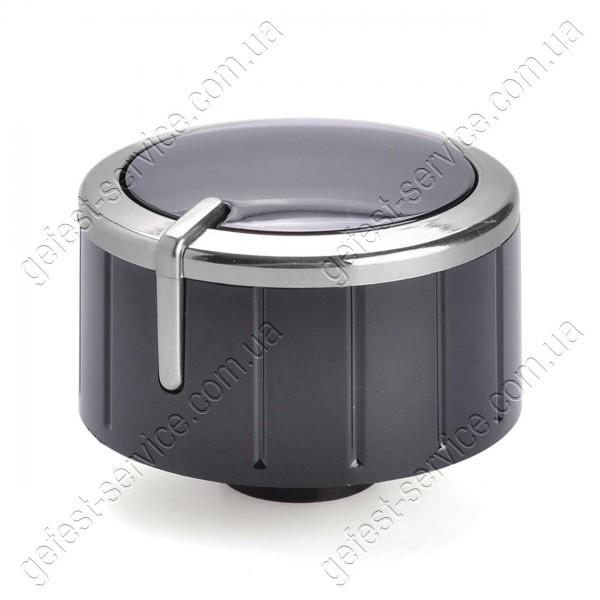 Ручка регулировочная 6300.04.0.000-04 черная плиты GEFEST 5500