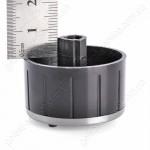 Ручка регулировочная AN37NN12H07S13 черная кухонной плиты GEFEST