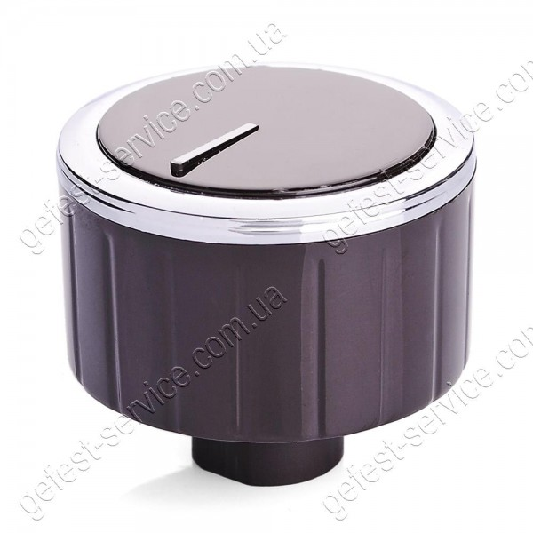 Ручка регулировочная OD35NN13H10SB коричневая кухонной плиты GEFEST