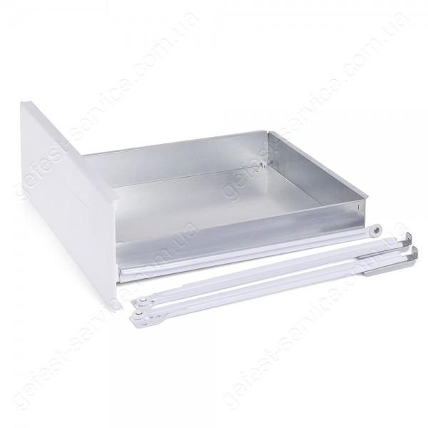 Ящик выдвижной 3200.06.0.000 белый с направляющими плиты GEFEST 3200-00... 3200-06