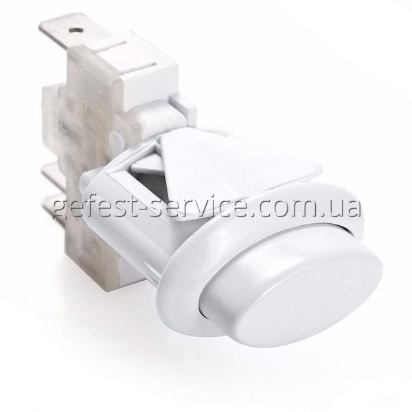 Кнопка розжига газа плиты Gefest ПКн-506 белая