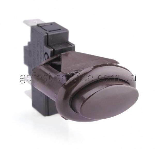 Кнопка розжига конфорок плиты Gefest ПКн 506-444 коричневая