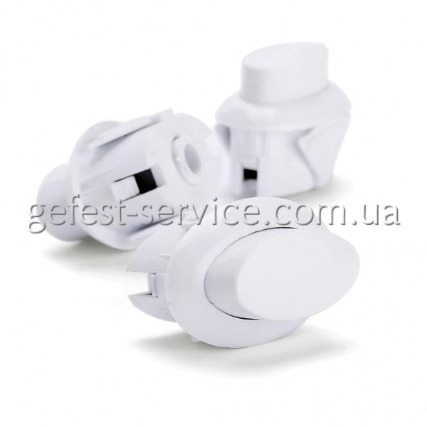 Кнопка  1100.69.0.000 предохранительного устройства ТУПа белая плиты GEFEST