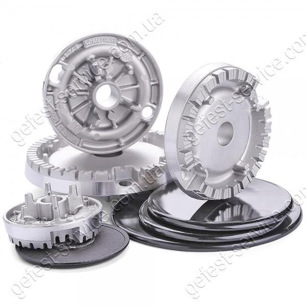 Комплект конфорок Somipress плиты GEFEST 1500, 6100, 6300, 6500