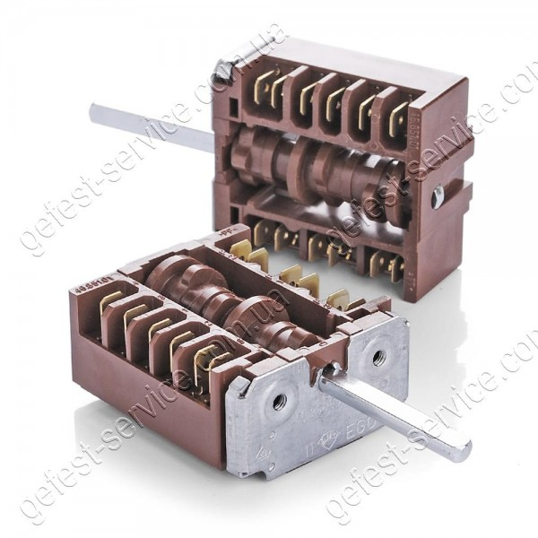 Переключатель мощности EGO 46.25866.509 плиты GEFEST 1140, 2140, 2160, 3102 (5 режимов)