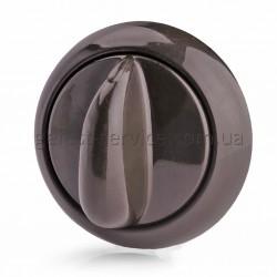 Ручка регулювальна 1200.10.0.000-05 в зборі коричнева плити GEFEST 1200, 3200