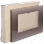 Внешнее панорамное стекло духовки Gefest 1200-C6 K19 598x409 коричневое