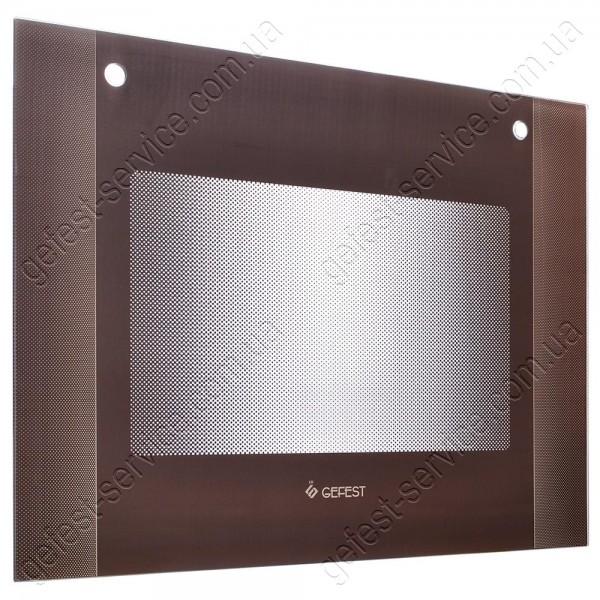 Панорамное стекло 598x446 двери духовки GEFEST 1300, 1500, 1502 K39