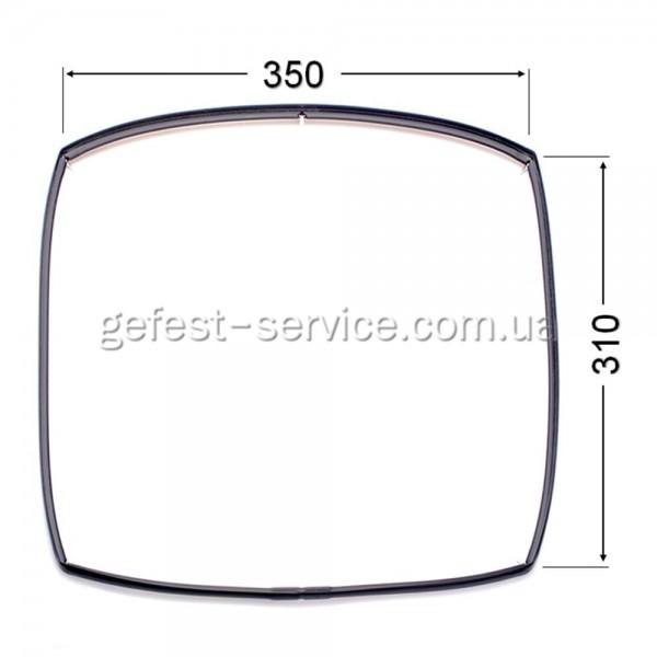 Резиновый уплотнитель дверцы духовки Gefest 1202.04.0.000-01