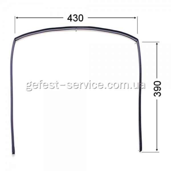 Резиновый уплотнитель дверцы духовки Gefest 1467-04.000A-02