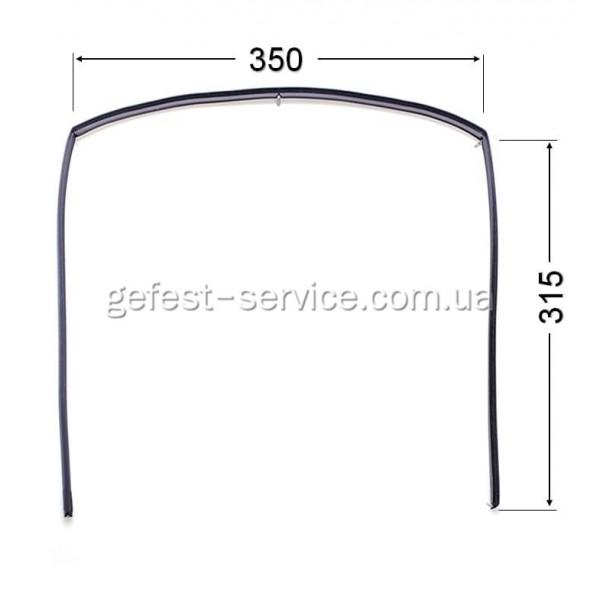 Резиновый уплотнитель дверцы духовки Gefest 1467-04.000A-03