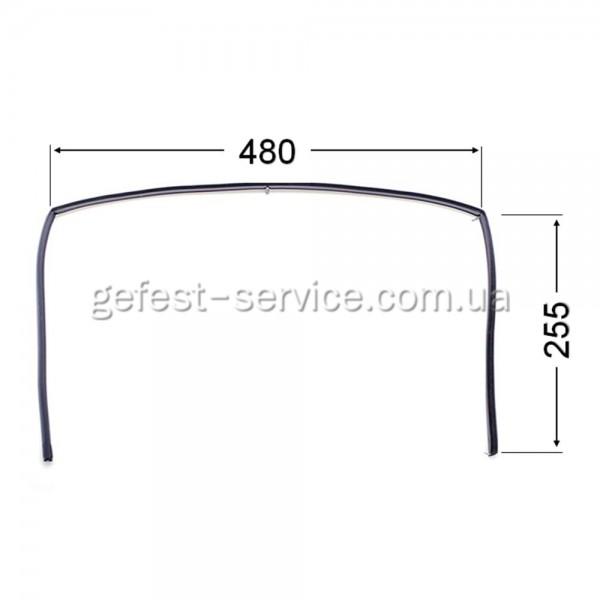 Резиновый уплотнитель дверцы духовки Gefest 1467-04.000A
