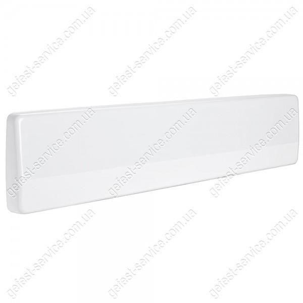 Щиток от брызг белый кухонной плиты GRETA 1201, 1470... Размеры щитка: 498x100 мм.