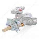 Кран COPRECI CAL 20703A/660 малой конфорки газовой плиты GRETA 1470, 600