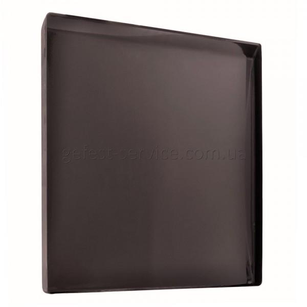 Крышка металлическая корич. кухонной плиты GRETA 1470-00. Размер крышки: 500x488 мм.