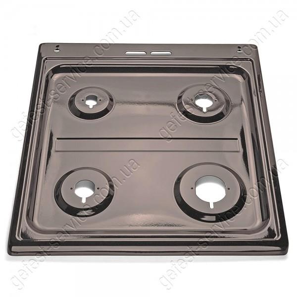 Стол эмалированный коричн. под металлическую крышку плиты GRETA 1470-00 от 2011 года