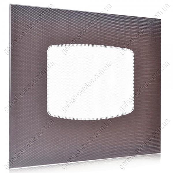 Стекло панорамное 498x396 коричневое плиты GRETA 1470-00 выпуском 2008-2011