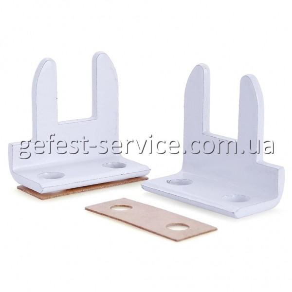 Кронштейны стеклянной крышки рабочего стола плиты GRETA (комплект)