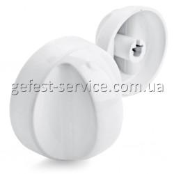 Ручка регулировочная белая 1470-00.05.00.002 для электрических плит GRETA