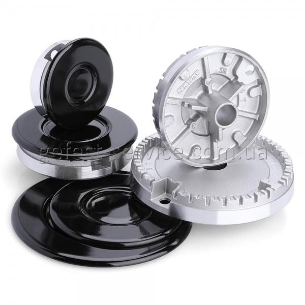 Конфорки кухонной газовой плиты GRETA выпуском 2012-2021 (комплект)