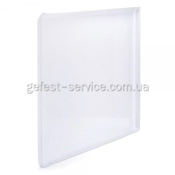 Крышка металлическая белая плиты GRETA 1470-00 от 2011. Размер крышки: 500x488 мм.