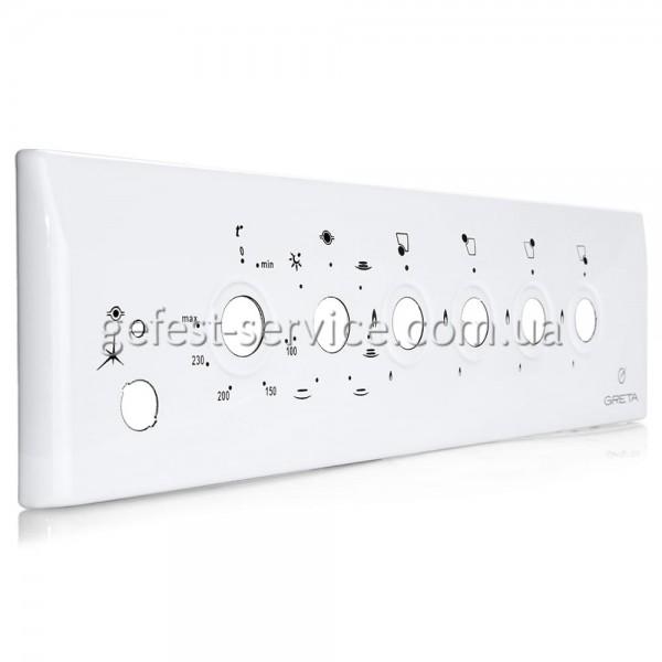 Панель управління плити GRETA 1470-ГЕ виконання 09, 17 біла