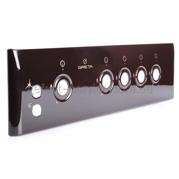 Панель управления кухонной плиты GRETA 1470-00 коричневая