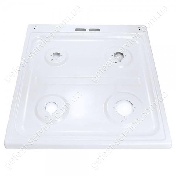 Стол эмалированный белый под стеклянную крышку плиты GRETA 1470-00 от 2019 года