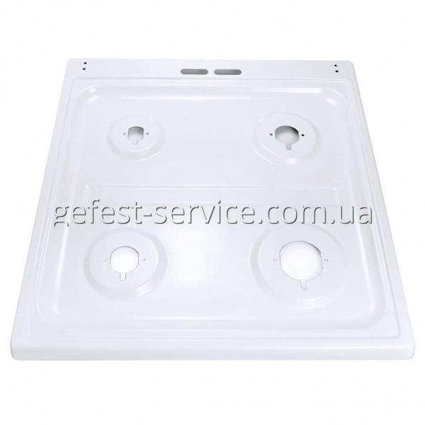 Стіл емальований білий під скляну кришку плити GRETA 1470-00 від 2011