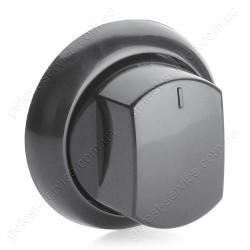 Ручка регулировочная черная в сборе плиты GRETA 1470 от 2020 года