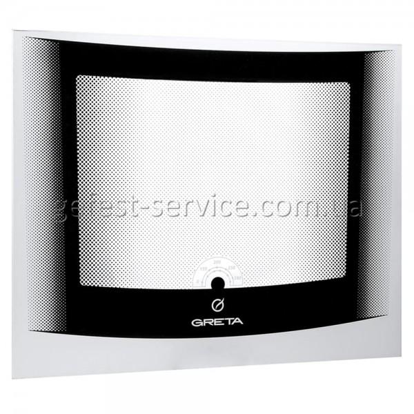 Стекло панорамное 498x396 белое плиты GRETA 1470-00 выпуском с 2008 по 2011 год