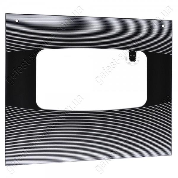 Стекло панорамное 498x437 черное плиты NORD выпуском с 2007 по 2009