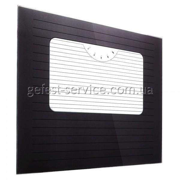 Стекло панорамное 490x395 черное плиты NORD выпуском 2000-2008