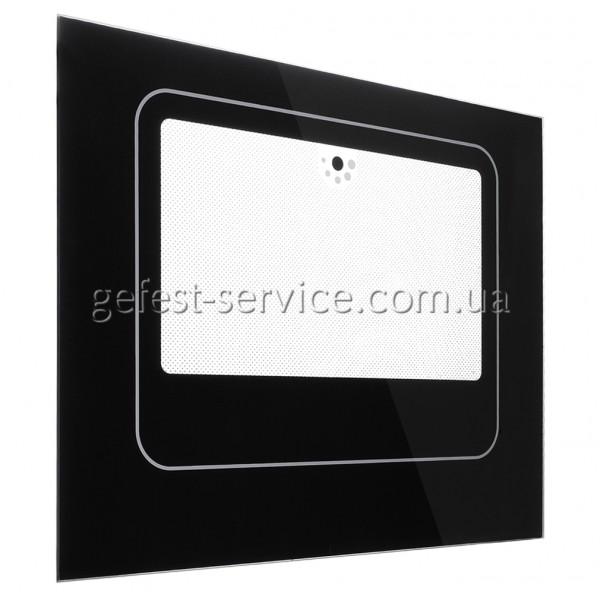 Стекло панорамное 490x395 черное плиты NORD выпуском с 2000 по 2008