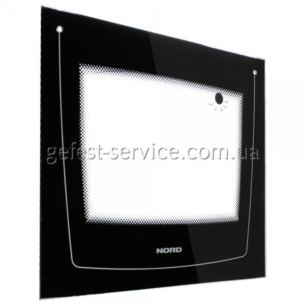 Стекло панорамное 498x428 черное плиты NORD выпуском 2008-2012